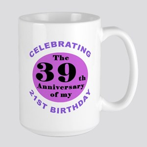 60th Birthday Humor Mug Large Mug